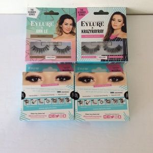 Bundle Of 4 Eye Lash Cosmetic London Eylure